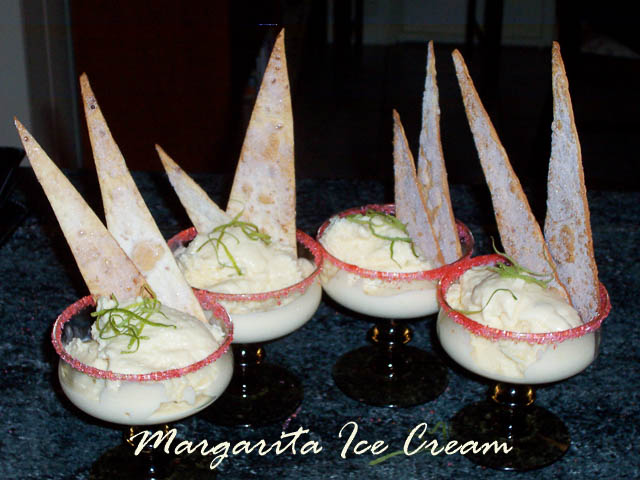 Cleaning Out the Pantry – Margarita Ice Cream