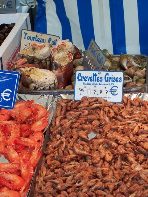 Crevettes, Marche Blvd Grenelle