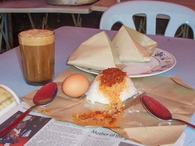 Malaysian Breakfast, Nasi Lemak KL