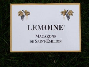 St Emillion Macarons Lemoine Box, Bordeaux