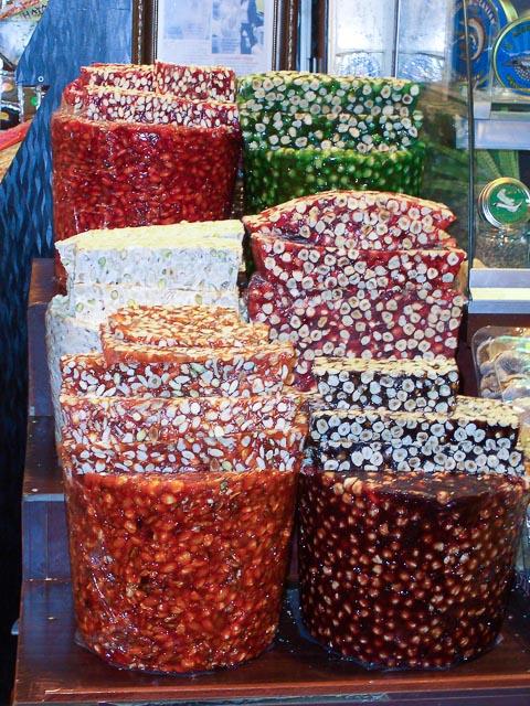 Turkey, Istanbul - Spice Market Lokum