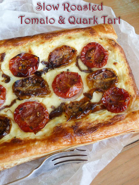 Slow Roasted Tomato & Quark Tart – Switzerland on a Shoestring