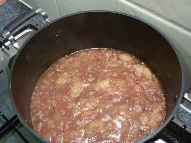 Bengal Chutney cooking