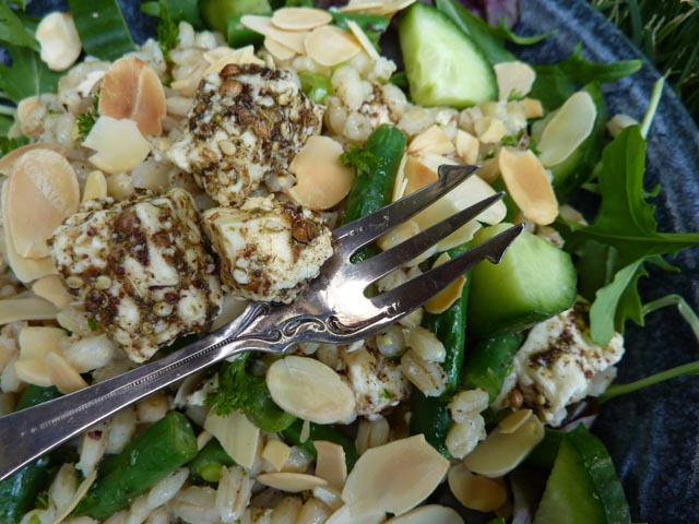 Yotam's Pearl Barley Tabouleh - just like it's served in Boonah...