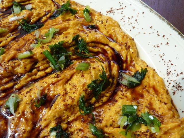 Pumpkin & Tahini closeup