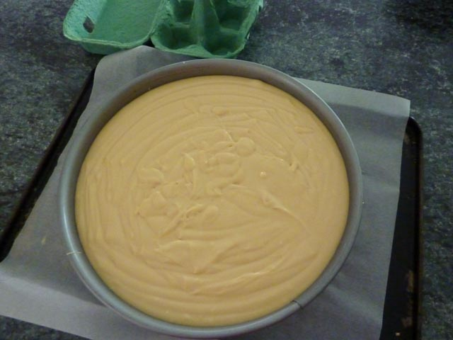 Ready for the oven...