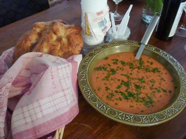 Gazpacho & Pide