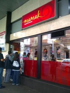 Mamak Entrance