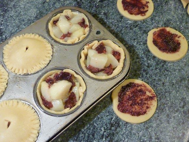 SABH uncooked pies