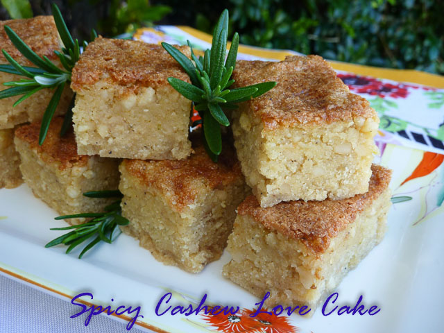 Spicy  Cashew Love Cake 3