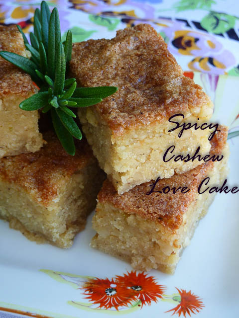Spicy Cashew Love Cake 4
