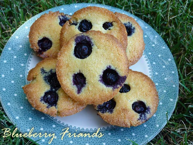 Blueberry Friands for Paper Giants – SABH