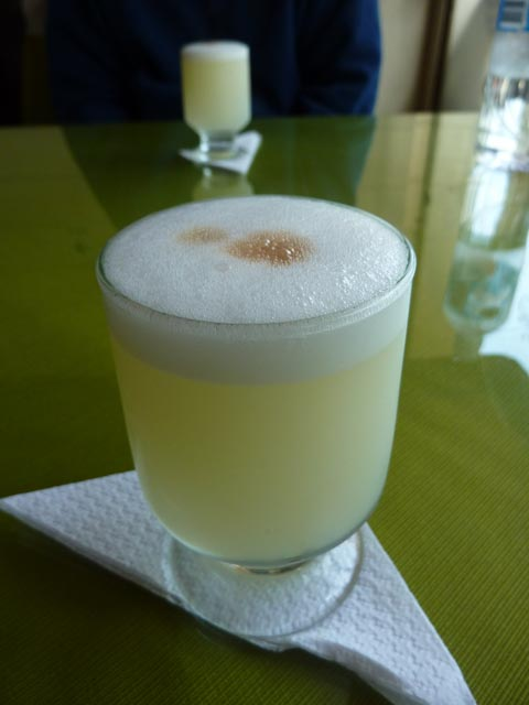 Pisco at Bolivar
