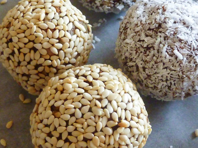 Bliss Balls closeup