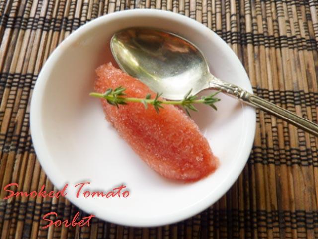 Smoked Tomato Sorbet 2