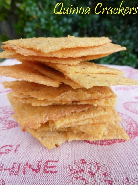 International Year of Quinoa – Quinoa Crackers