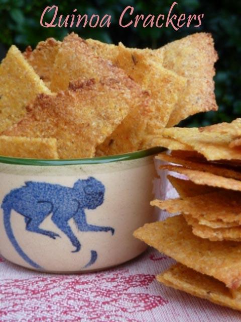 Quinoa Crackers 2