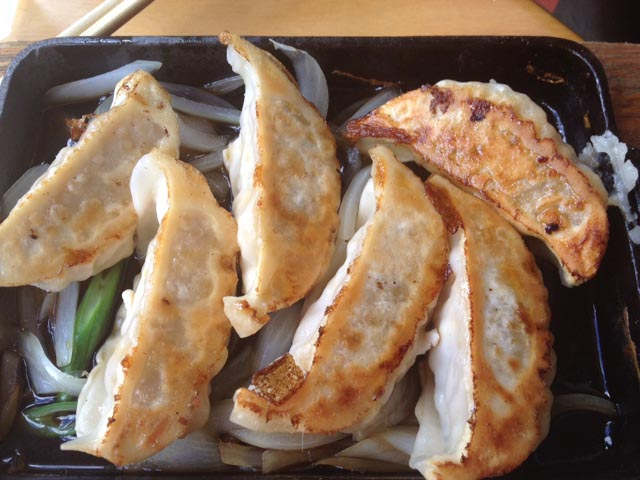 Ann St Gyoza Close Up