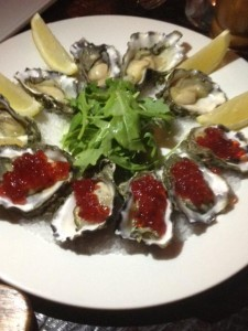 Moose & Gibson Oysters