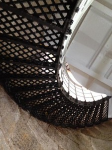 WA Cape Leeuwin Lighthouse steps