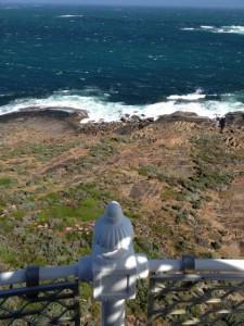 WA Cape Leeuwin Lighthouse view