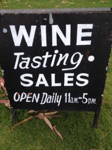 WA Wine Sales