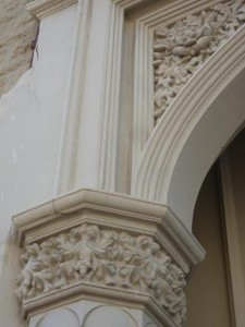 Historic Fremantle building - closeup of arch