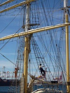 Fremantle Tall Ships Rigging