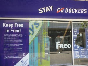 The fight to keep the Fremantle Dockers in Freo