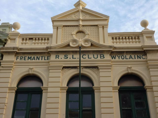 Historic Fremantle RSL building - Fremantle, WA