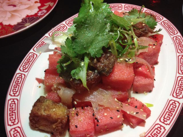 Kwan Bros Pork & Watermelon