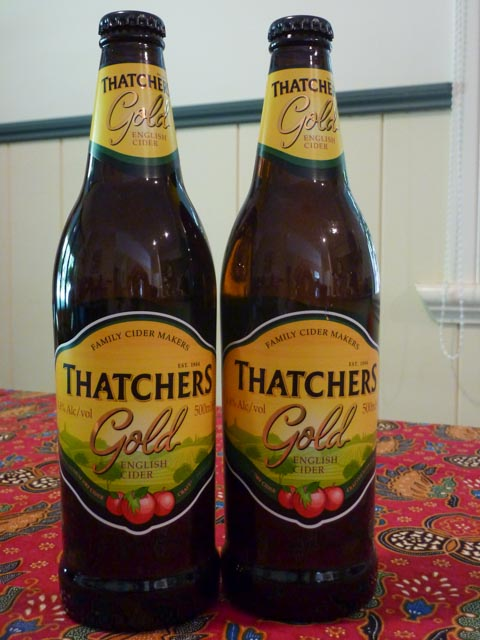 Thatcher's Gold Cider