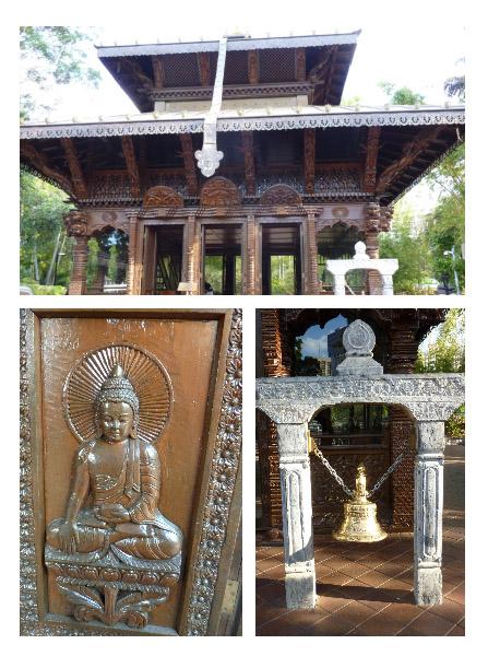 Nepal Pagoda Trio
