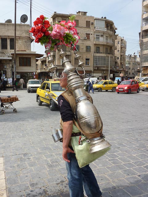 Drink?...  Water Bearer - Damsacus, Syria