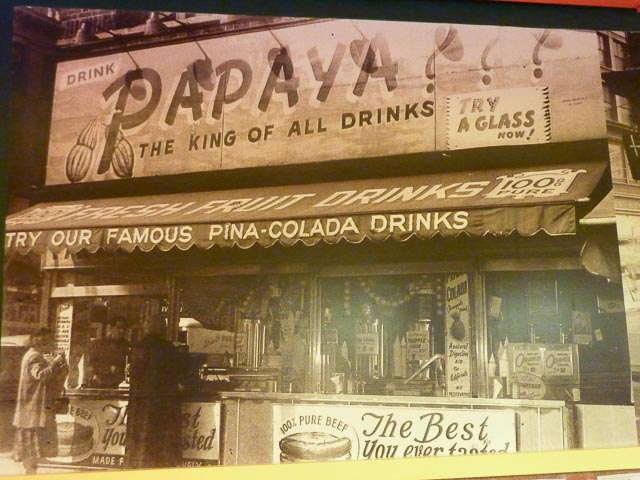 Papaya King old days