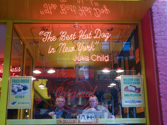 Papaya King window