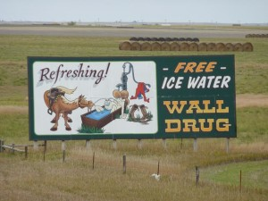 Wall Drug Sign, Sth Dakota