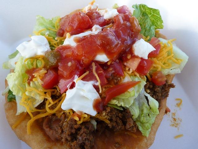 Indian Taco w Sauce