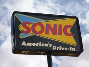 Kayenta, AZ - Sonic Drive In Burger Sign