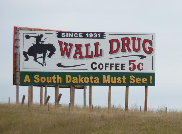 Sth Dakota, Wall Drug Since 1931