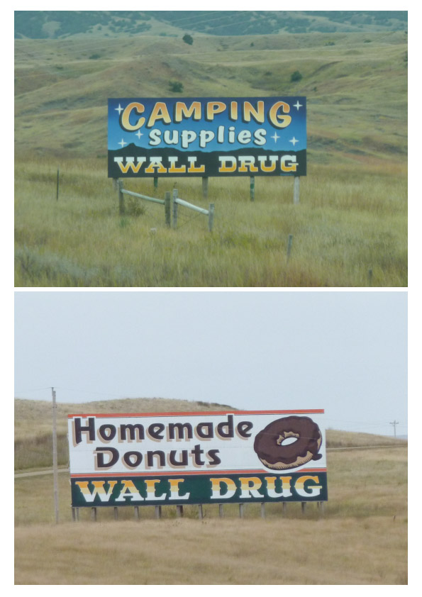 Wall Drug signs pair 4