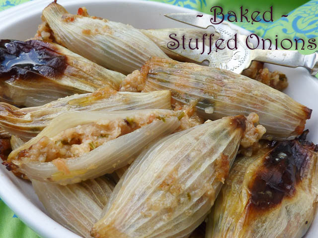 Baked Onions 4