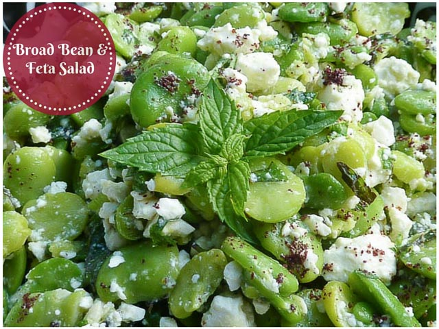 Broad Bean & Feta Salad