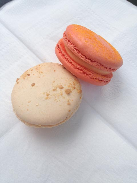 Cheeto & Sour Cream Macarons