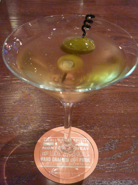 Yellowstone Martini