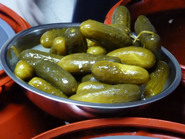Pickles from the Pickle Guys