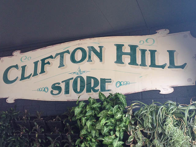 Clifton Hill Grocery Sign