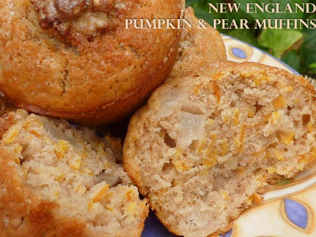 New England Pumpkin Muffins
