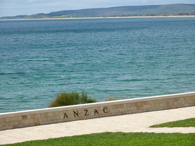 ANZAC Cove - Gallipoli, Turkey