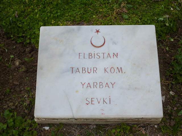 Turkish Grave - Gallipoli, Turkey